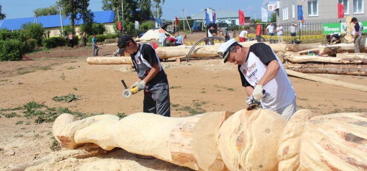 """II Международный фестиваль парковых скульптур """"Древо жизни"""". День третий."""