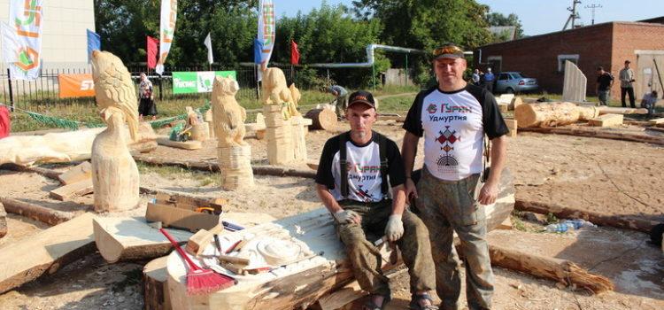 """II Международный фестиваль парковых скульптур """"Древо жизни"""". День четвёртый."""