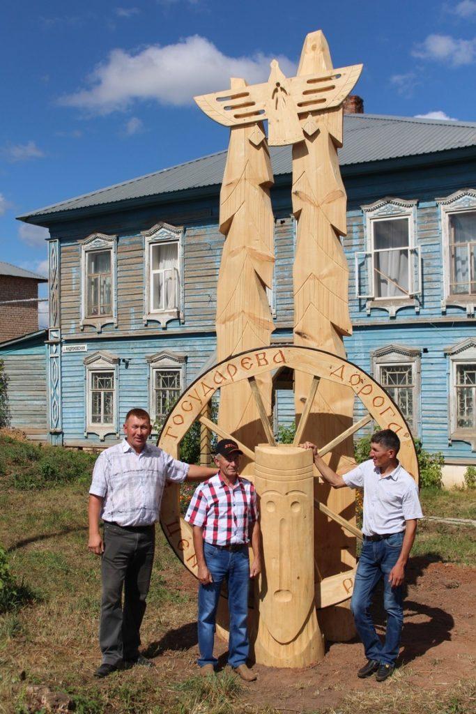Команда Алнашского района (композиция «Сибирский тракт»)