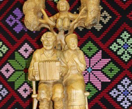 Выставка изделий мастеров Старомоньинского Дома ремесел