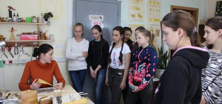 Мастер-показы для учащихся Завьяловской школы