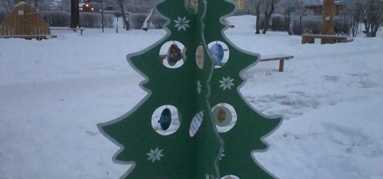 Конкурс новогодних ёлок