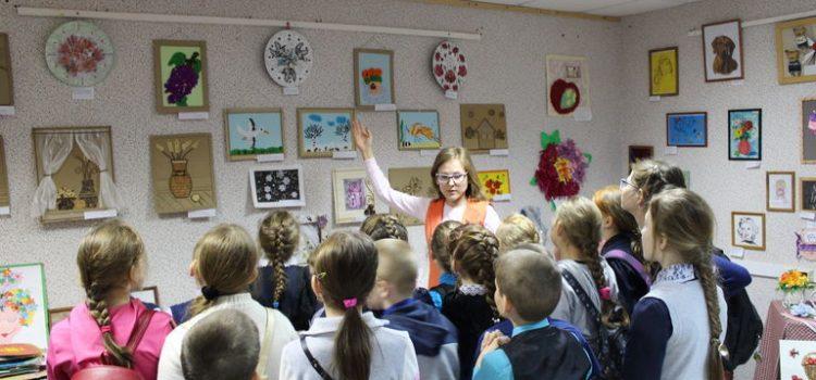 Учащиеся Тыловайской школы в Доме ремёсел