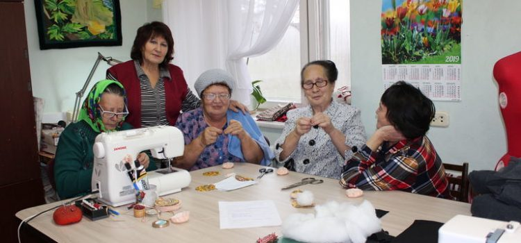 Гости из Нижнепыхтинского поселения