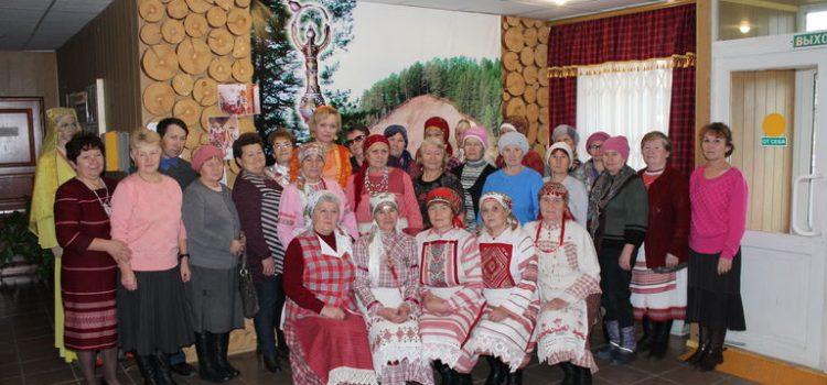 Закрытие выставки работ пожилых людей
